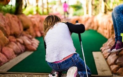 Mini Golf School Holiday Fun