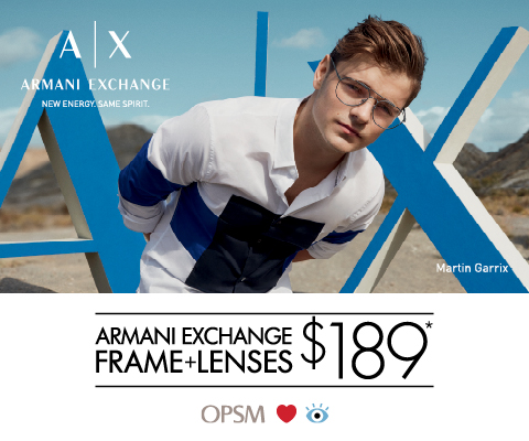 Armani Exchange Packages