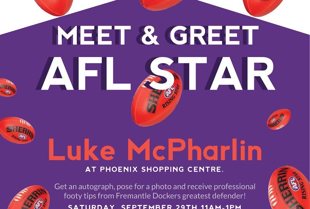 Meet Fremantle Dockers star Luke McPharlin