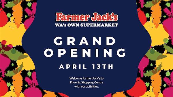 Farmer Jack's Grand Opening
