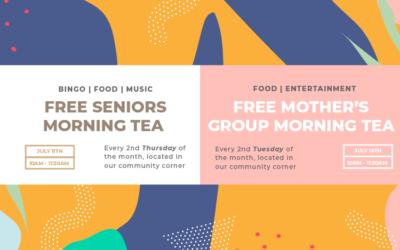 Mother's Group & Seniors Morning Teas