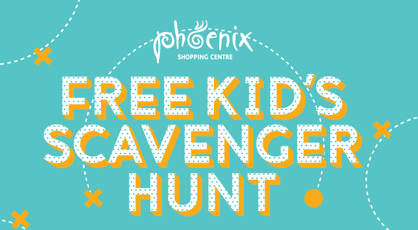 July School Holidays – Free Kids' Scavenger Hunt