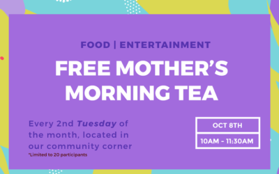 Mother's Group Morning Tea & Pilates Workshop