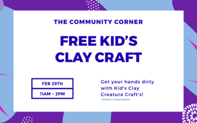 Community Corner Kid's Event