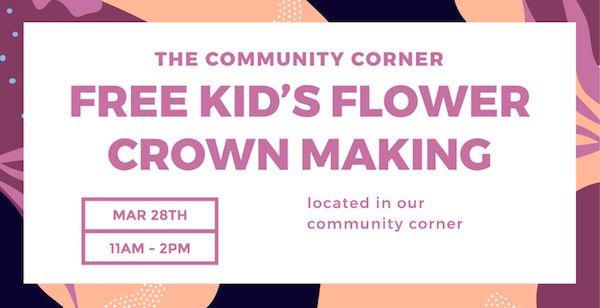 Community Corner Kid's Event