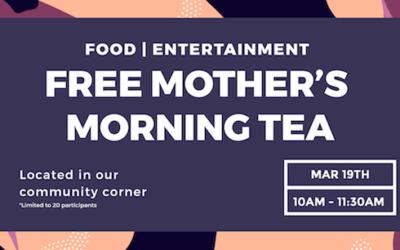 Mother's Morning Tea